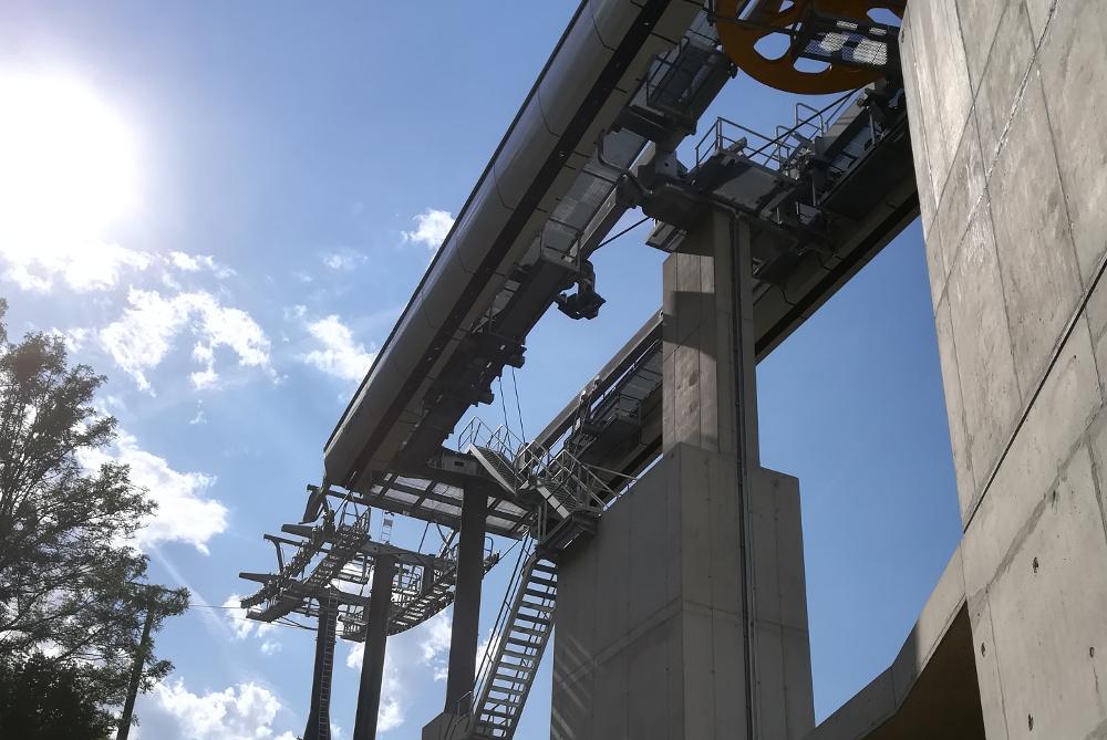 Bau_Strecke_Umlenkungsbreich – Construction phase diversion sector