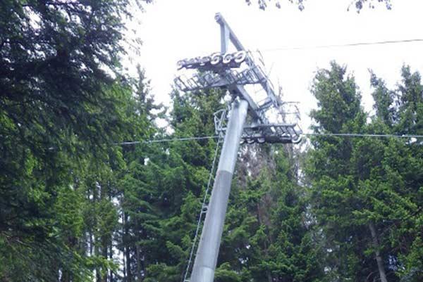 Restructuring of Pillar Nr. 4 at the Hörnerbahn