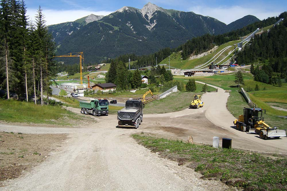 Cross country ski trail development – WC2019 – Seefeld