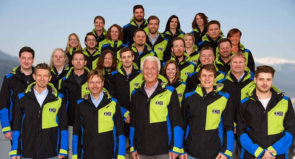 Klenkhart und Partner Absam Team-Gruppenfoto